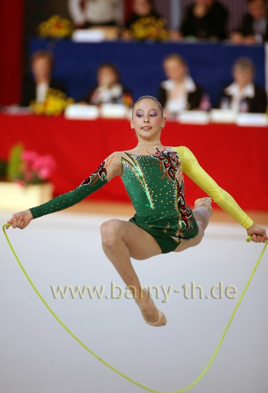 Rhythmic Gymnastics | View topic - Daria Kondakova (RUS) rope leo ´06